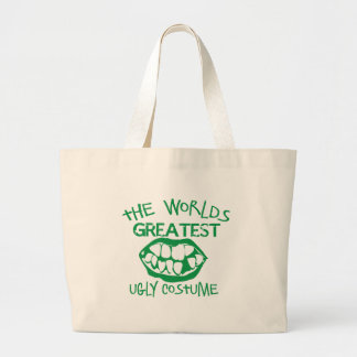 The worlds greatest UGLY costume for Halloween Tote Bags