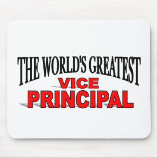 The World's Greatest Vice Principal Mouse Mat