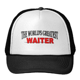 The World's Greatest Waiter Trucker Hats