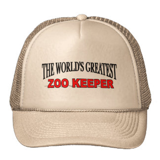 The World's Greatest Zoo Keeper Cap