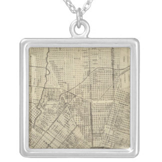 The World's Industrial Silver Plated Necklace