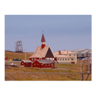 The world's northernmost church postcard