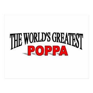 The Worl's Greatest Poppa Postcard