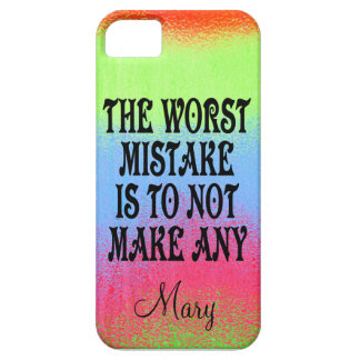The Worst Mistake is Not to Make Any iPhone 5 Cases
