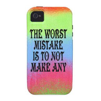 The Worst Mistake is Not to Make Any iPhone 4/4S Cover