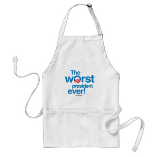 The worst president ever standard apron