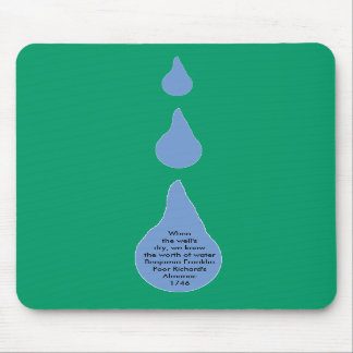 The Worth of Water Mouse Mat