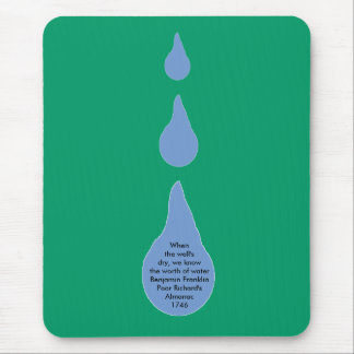 The Worth of Water Mouse Pad