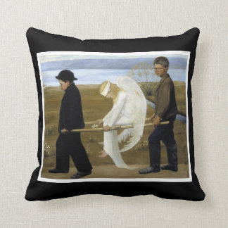The Wounded Angel Pillow