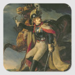 The Wounded Cuirassier, 1814 Square Sticker