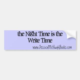 the Write Time Bumper Sticker