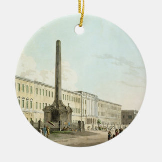 The Writers' Buildings, Calcutta, plate 30 from 'O Round Ceramic Decoration