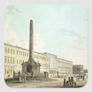The Writers' Buildings, Calcutta, plate 30 from 'O Square Sticker