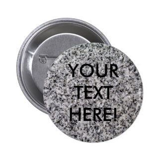 THE WRITING IS ON THE WALL SO TAKE IT FOR GRANITE! 6 CM ROUND BADGE