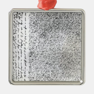The written dispatches of Sir Francis Drake Christmas Ornament
