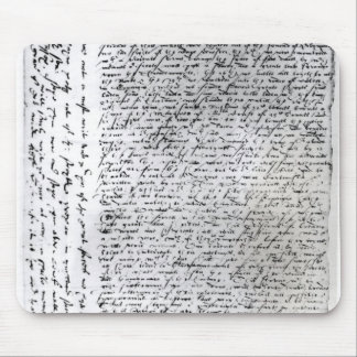The written dispatches of Sir Francis Drake Mouse Pads