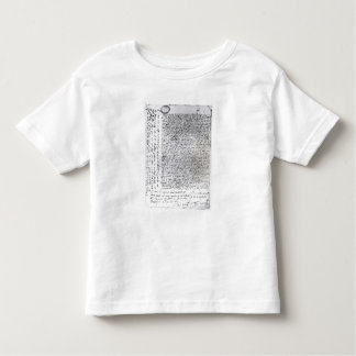 The written dispatches of Sir Francis Drake Toddler T-Shirt