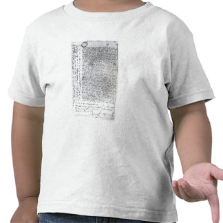 The written dispatches of Sir Francis Drake T-shirt