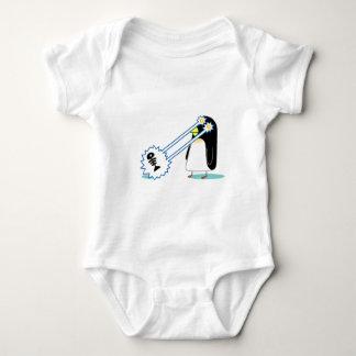 The X Penguin Baby Bodysuit