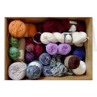 The Yarn Collector's Box Card