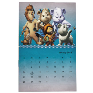 The Year of Flurry Calendar