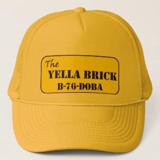 The YELLA BRICK B-76 Doba Trucker Hat