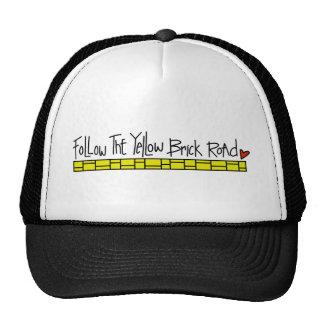The Yellow Brick Road Trucker Hats