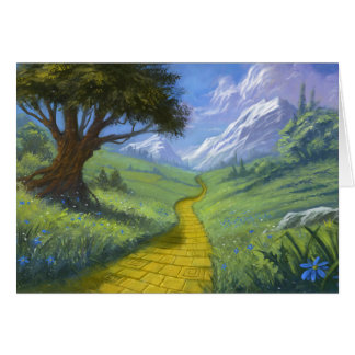 The Yellow Brick Road Note Card