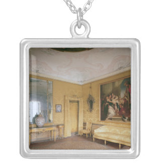 The Yellow Drawing Room, Ca' Rezzonico Silver Plated Necklace