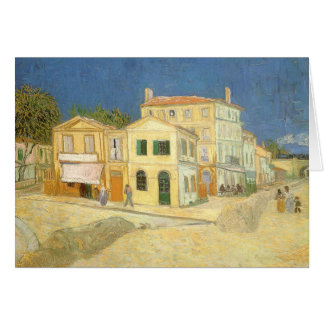 The Yellow House by Vincent van Gogh Card