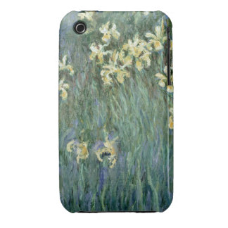 The Yellow Irises (oil on canvas) iPhone 3 Case