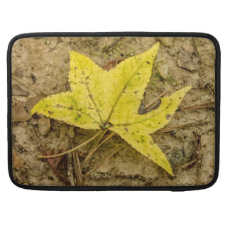 The Yellow Leaf for Mac Laptop Sleeve For MacBooks