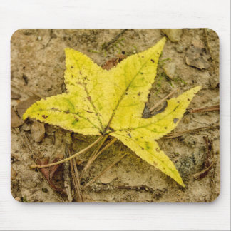 The Yellow Leaf Mouse Mat