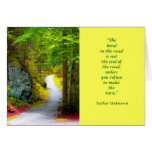 The Yellow Road Card