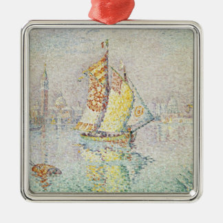 The Yellow Sail, Venice, 1904 Christmas Ornament