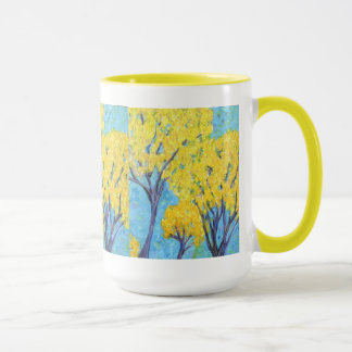 The yellow trees mug