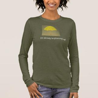 The Yellow Umbrella Women's Long Sleeved T Shirt