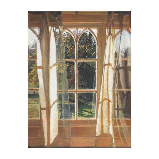 The yellow window 2013 canvas print