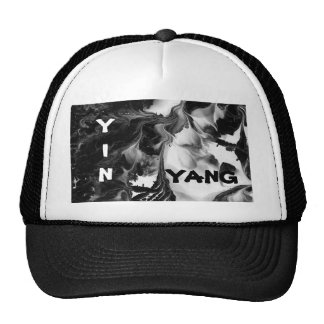 THE YIN AND THE YANG MESH HAT