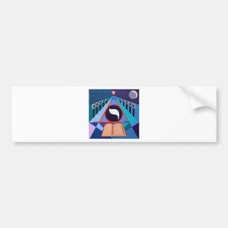 The Yod Letter - Hebrew alphabet Bumper Sticker