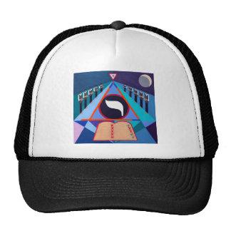 The Yod Letter - Hebrew alphabet Trucker Hats