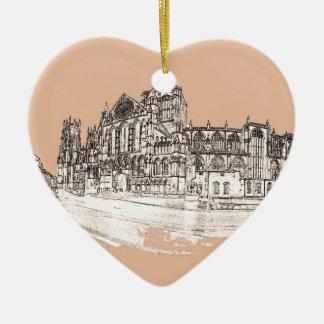 The York Minster Christmas Ornament