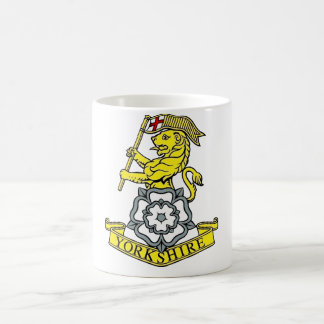 The Yorkshire Regiment Basic White Mug
