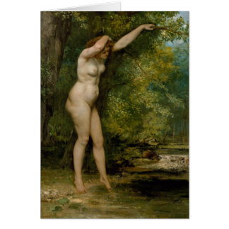 The Young Bather Card