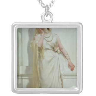 The Young Bride, 1883 Silver Plated Necklace