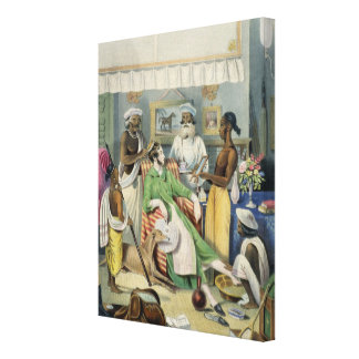 The Young Civilian s Toilet plate 1 from Anglo I Canvas Prints