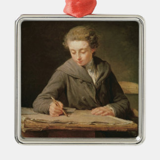 The young draughtsman, Carle Vernet, 1772 Christmas Ornament