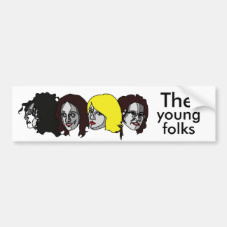 The Young folk musics chart, The, Young, folk musi Bumper Sticker