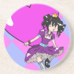 The Young Queen of Hearts Coaster