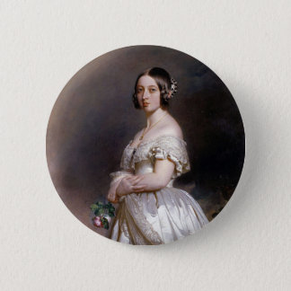 The Young Queen Victoria 6 Cm Round Badge
